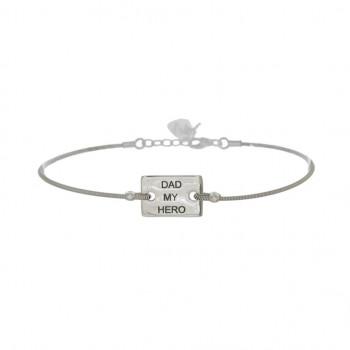 Bracelet Plaque Petit...