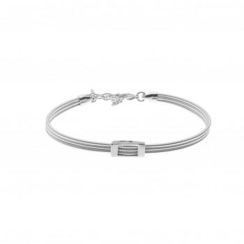 Bracelet H sur 3 cordes de...