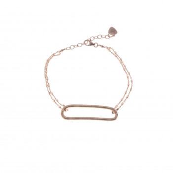 Bracelet OVALE en corde de...