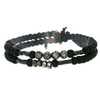 Bracelet 2 tours et perles...