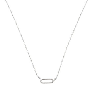 Collier MINI OVALE en Corde...
