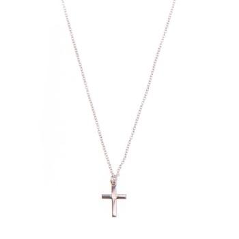Collier long Croix